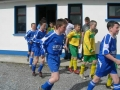 Teams take the field for the under 11 cup final
