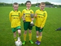 Goalscorers - Geary, Molloy and Lenihan