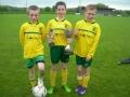Goalscorers - Geary, Molloy and Lenihan