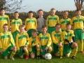 Ballingarry AFC Under 12 squad 2009/10