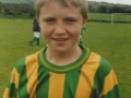 Paudie O' Callaghan, member of the Desmond Schoolboys League Under 12 Squad, All-Ireland finalists 2004.