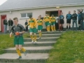 Ballingarry under 13s enter the pitch for the final.