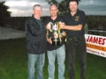 Ballingarry AFC Under 13 managers - John Clancy, Noel Forde and Conor O\'Donoghue.