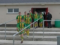 Ballingarry team enters the pitch