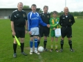 Abbey captain presented with pennent