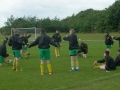 Stretching before the final