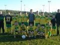 Ballingarry AFC Under 14 Squad 2008/09 with managers Paul Molloy & Tadhg Keating.