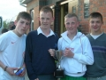 Cathal, Sean, Aaron and Nathan