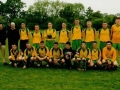 Ballingarry AFC Under 16 squad prior to cup final against Abbeyfeale United.