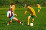 Anthony Forde on the ball for Ballingarry.