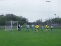 Ballingarry attacking a corner.
