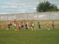The Ballingarry boys attack a corner.