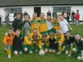 The victorious Ballingarry Under 8 squad celebrate victory.