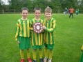 Goal Scorers. Jack and Michael Molloy and Eoghan Doherty