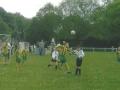 Ballingarry defend a first-half corner.