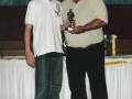 Under 14 Player of the Year 2007/08 Damien O'Donoghue