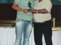Under 16 Player of the Year 2007/08 Marcus Moore