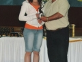 Under 15 Girls Player of the Year 2007/08 Aoibhinn O'Connor