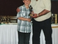 Under 10A Player of the Year 2007/08 Nathan Clancy