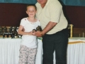 Under 10 Girls Topscorer Claire Gohery