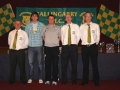 Organising Committee James Clancy, Tom Burke, and Paul Molloy with special guest  Conor Nestor and Darragh O'Grady