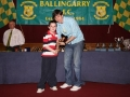 Sean O'Connor Under 8 top scorer.