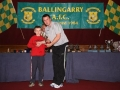 Niall Houlihan Under 9B player of the year