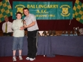 Karl Mullane Under 10 B player of the year.