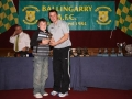 Robert Lynch Under 10 A player of the year.