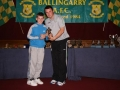 Cathal O'Keeffe Under 11 player of the year