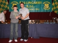 Patrick Shelton Under 12 player of the year