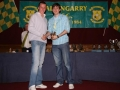 Barry O'Connell Under 14 top scorer