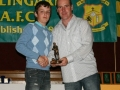Aaron Hickey Under 13 Player of the Year