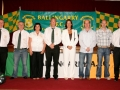 Ballingarry AFC committee with guests of honour