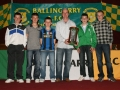 Ballingarry's 5 Under 12 Inter League squad members 2009/10