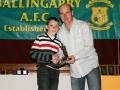 Darragh Rankin-Hehir Under 12 B Player of the Year