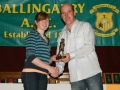 Jane Healy Under 16 Girls Player of the Year