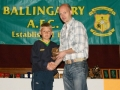 Peter Thompstone Under 12 B top scorer