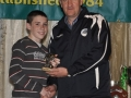 Darragh Rankin-Hehir Under 12 Inter League award