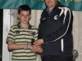 Mikey Hickey Under 13 Kennedy Cup award