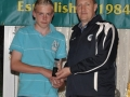 Mikey Morrissey Under 13 Kennedy Cup award