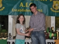 Valerie Sheehy Girls Under 10 top scorer