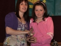 Chloe Collum under 10 girls player of the year