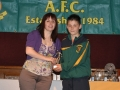 Keith O'Kelly under 11 player of the year