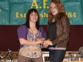 Rachel Anderson under 14 girls top scorer