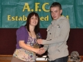 Alan Murphy under 15 player of the year