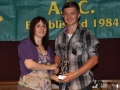 Nathan Clancy under 16 player of the year