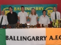 Brian Fitzgerald, Anthony Forde & Fiona Hickey with committe members James Clancy & Paul Molloy