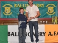 Under 11 LDSL Squad player Kieran Storin