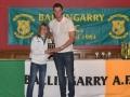 Under 12 LDSL Gaynor Cup squad member Grace Mullane